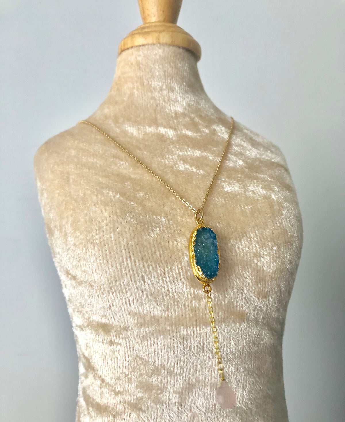 Aqua Necklace