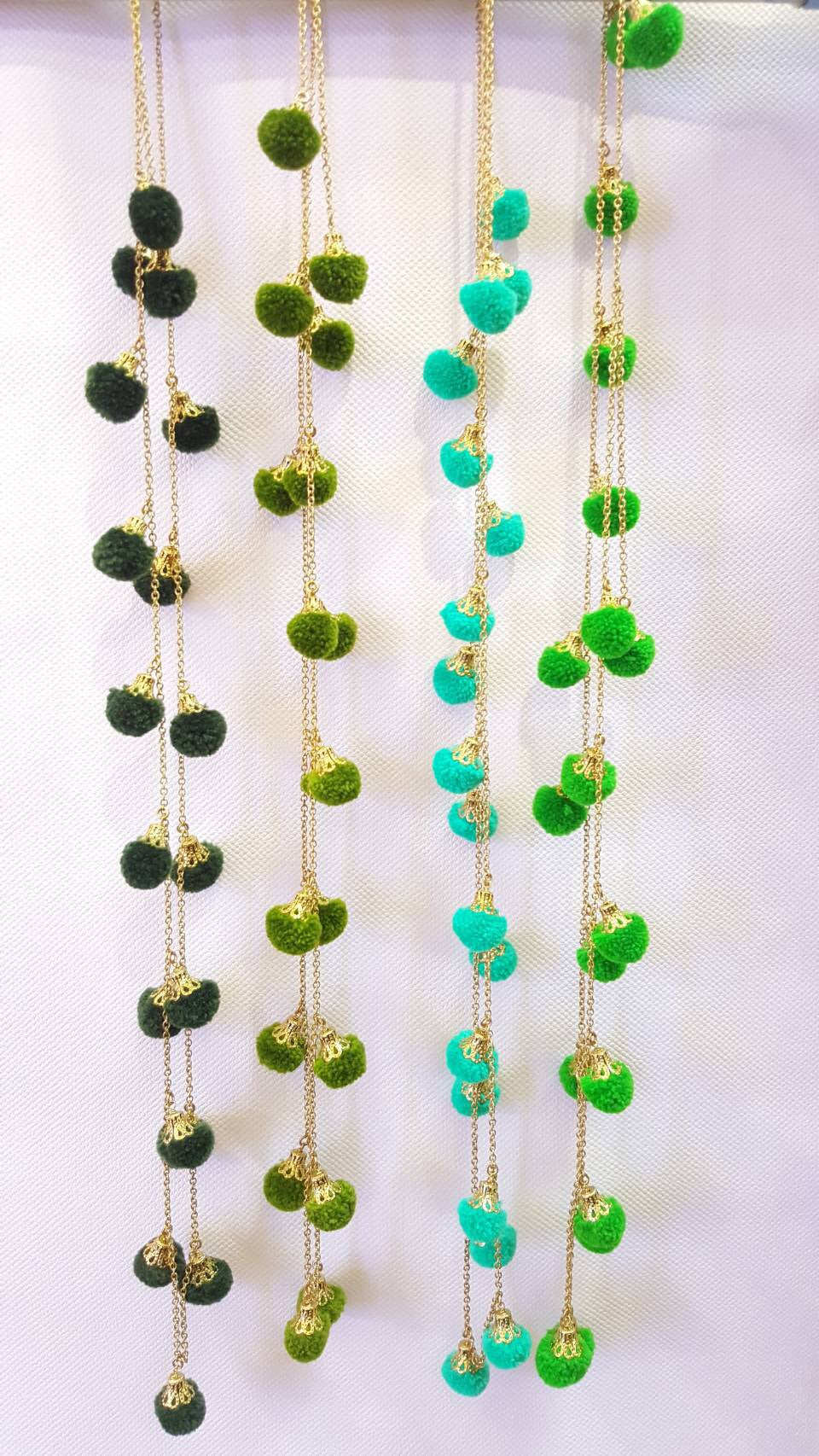 Loula  Pom Pom Necklace (2nd Restock)