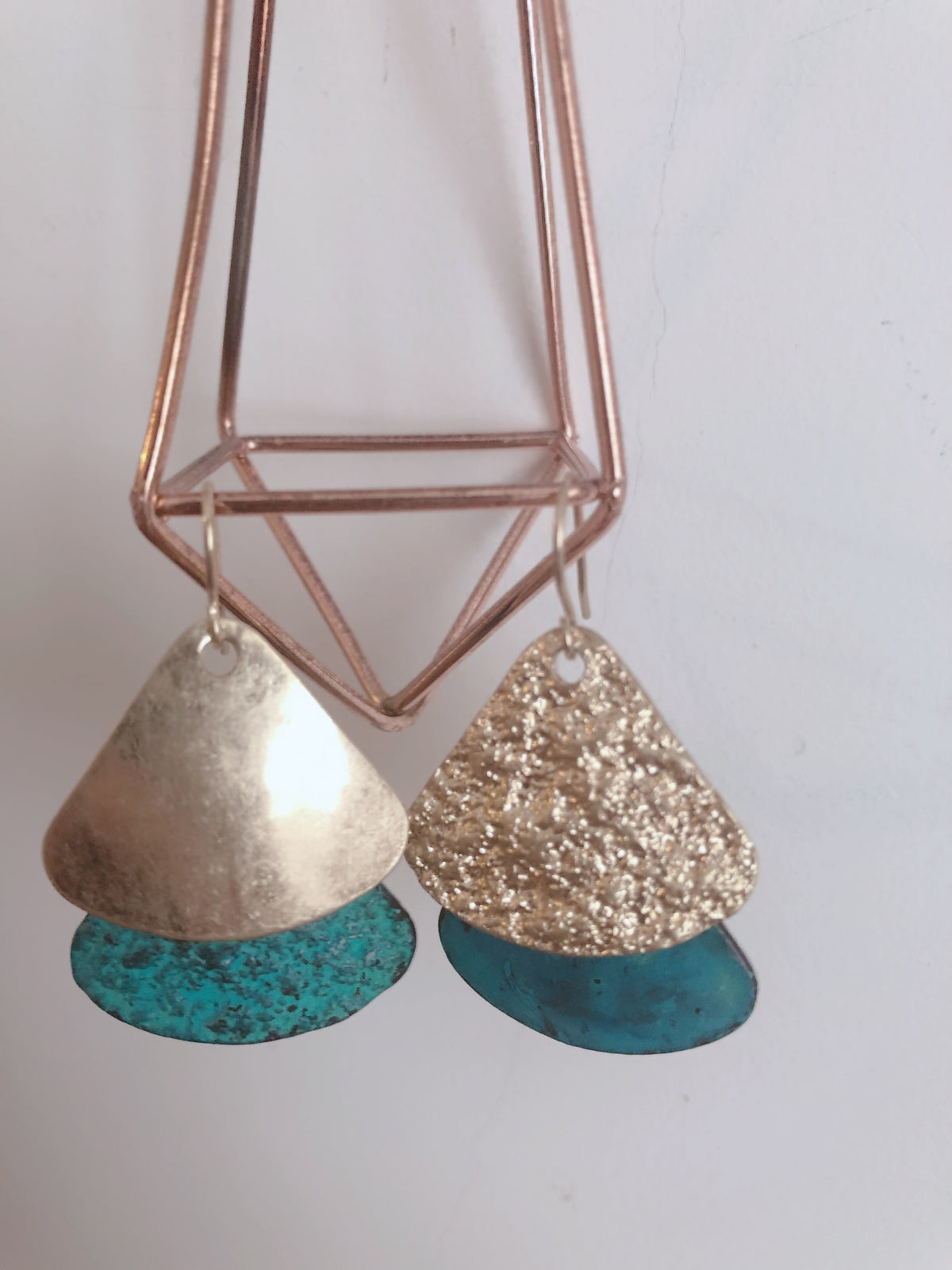 Ginny Triangle Earrings