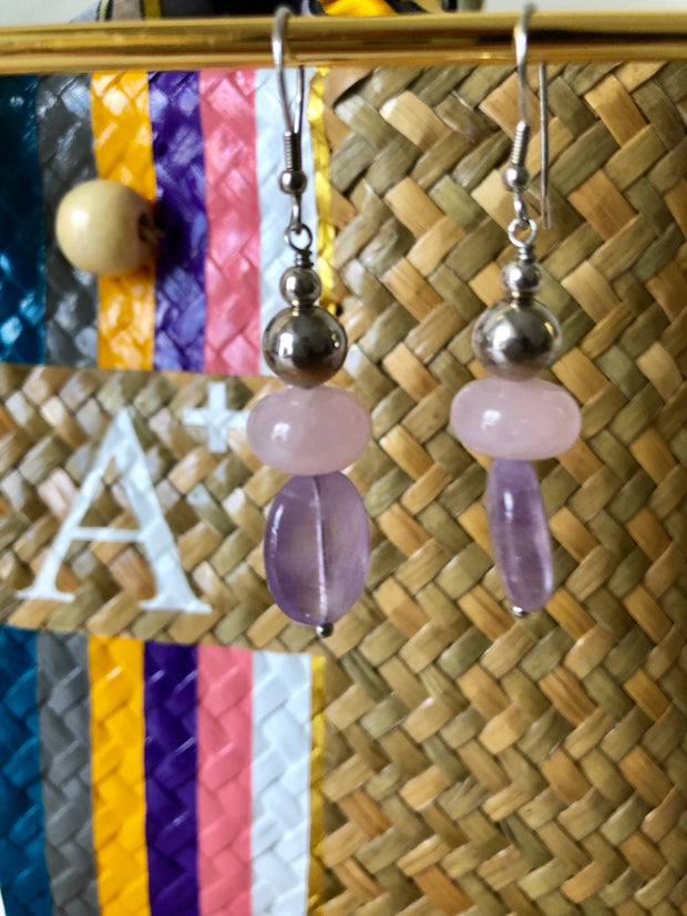 Dolly Semiprecious Stone Earrings