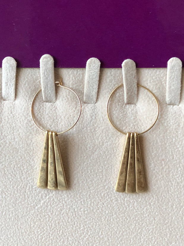 Jinna Fringe Earrings
