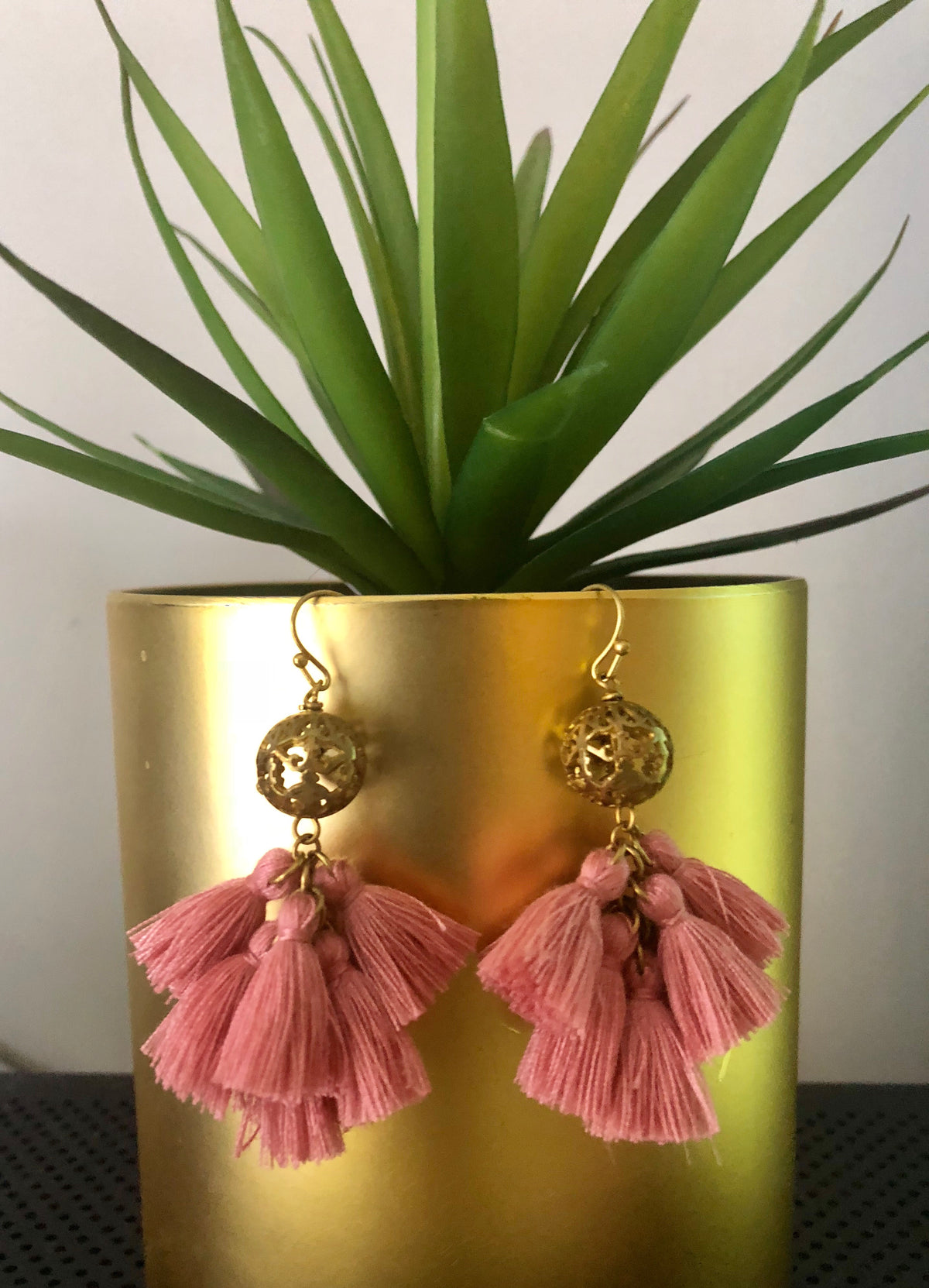 Sola Tassel Earrings