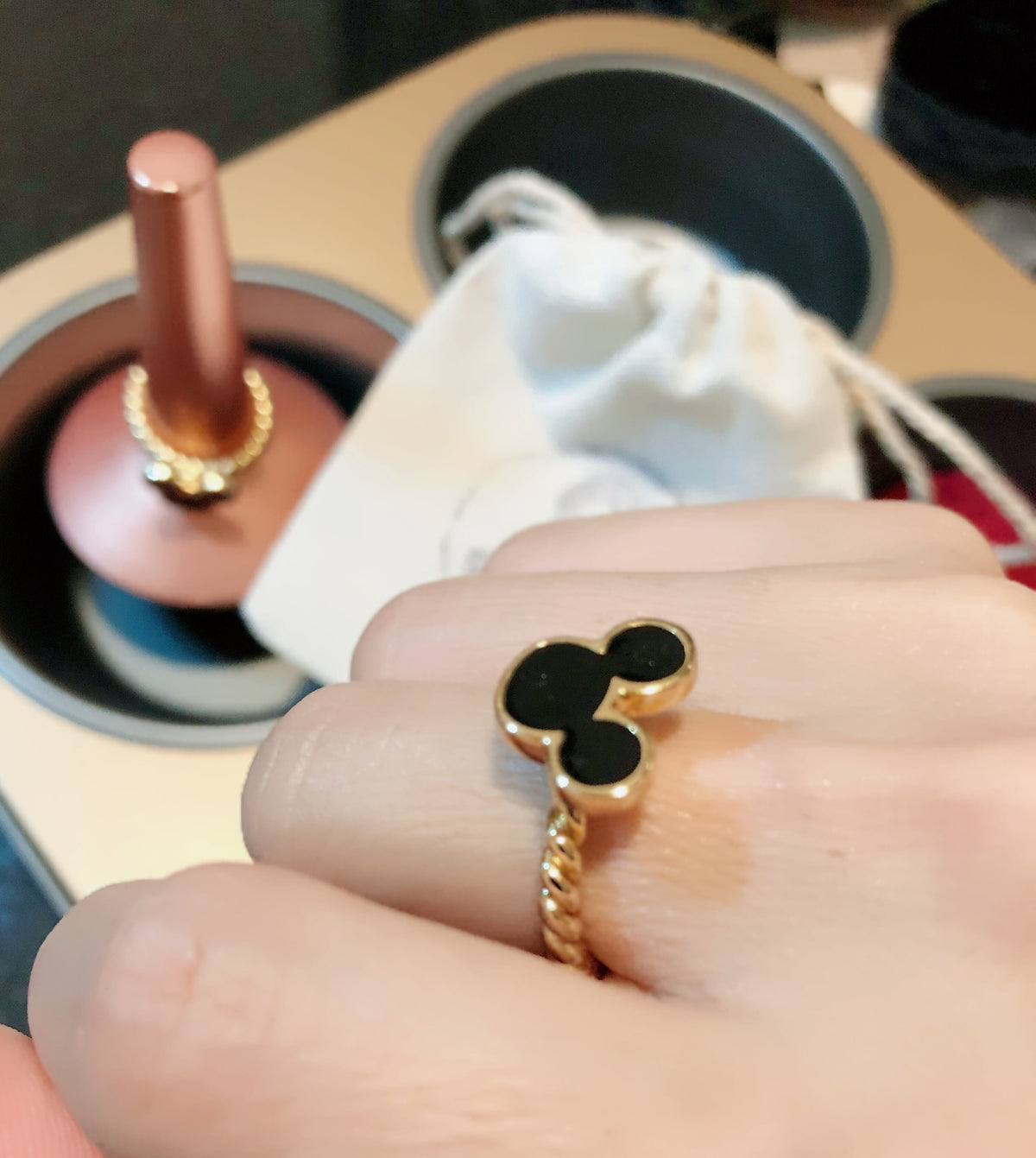 Saturday Mickey Ring (free size)