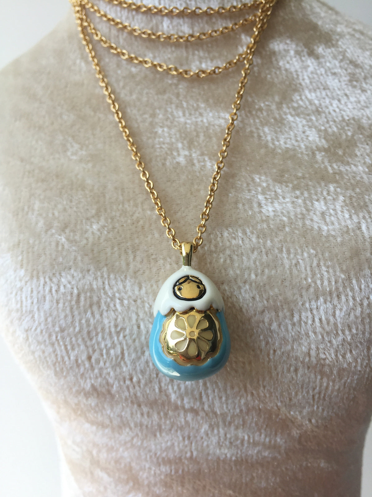 Fanny Russian Doll Necklace