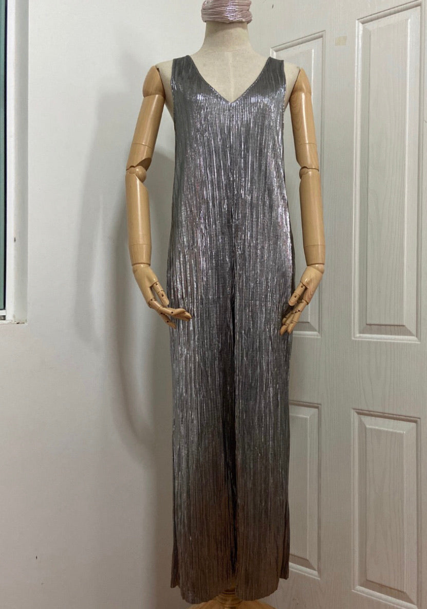 Sai Metallic Jumpsuit