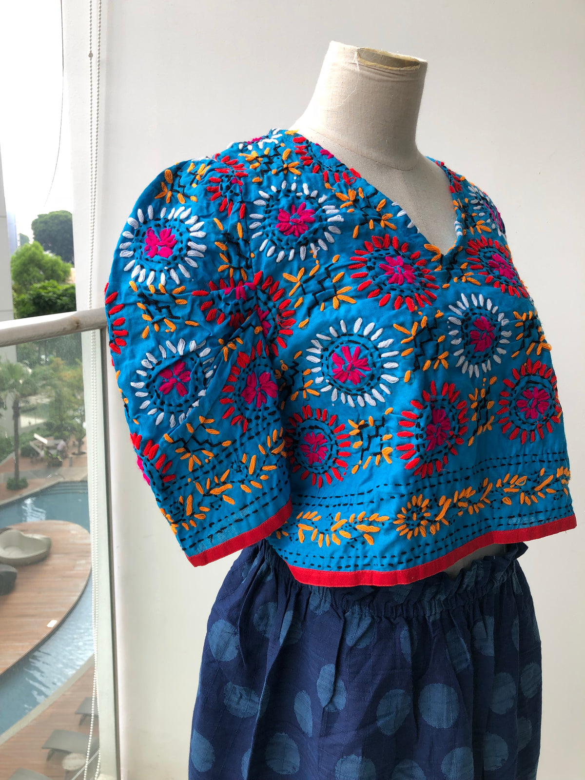 Gifara Hand Embroidered Top