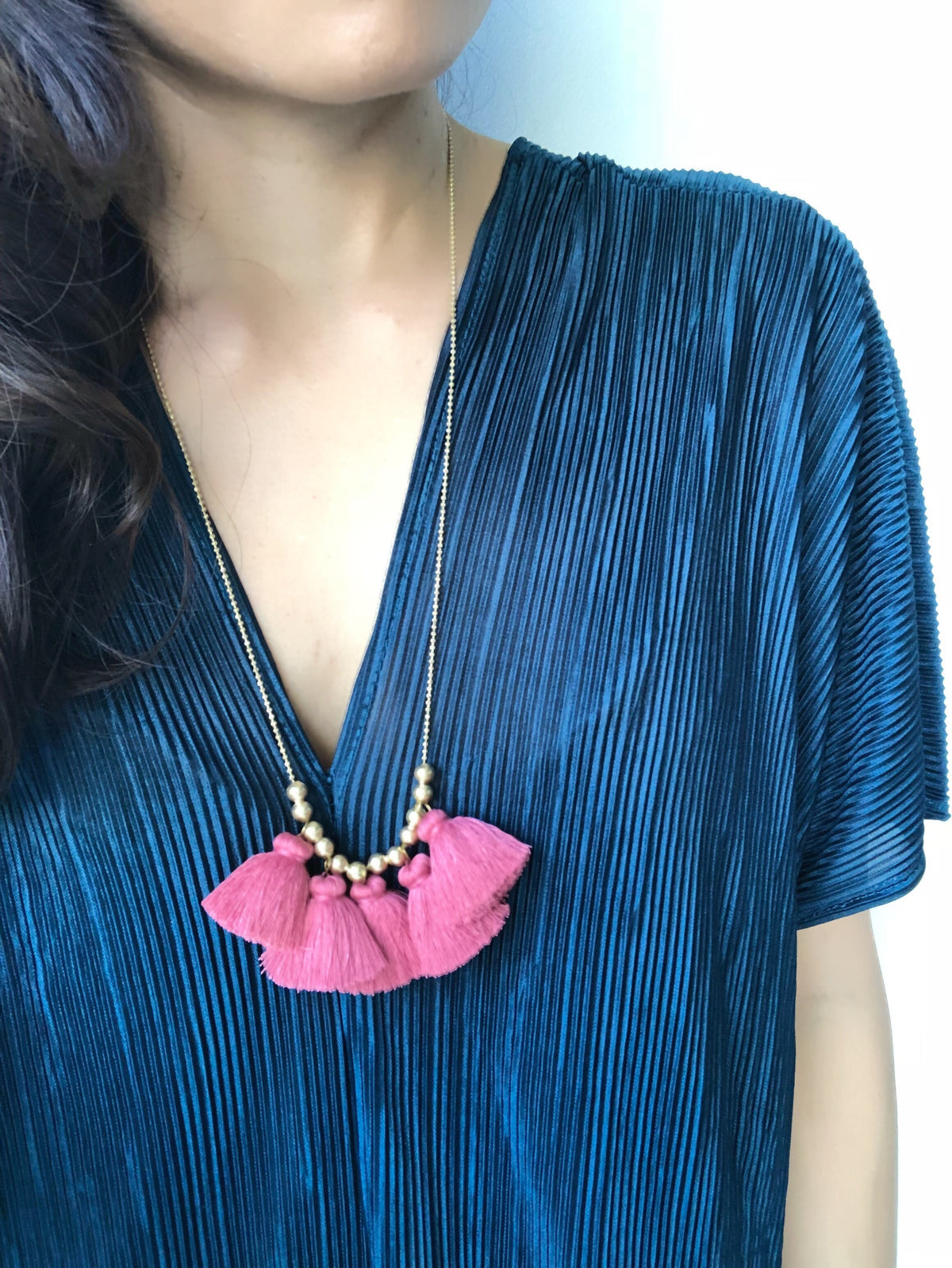 Benja Tassel Necklace