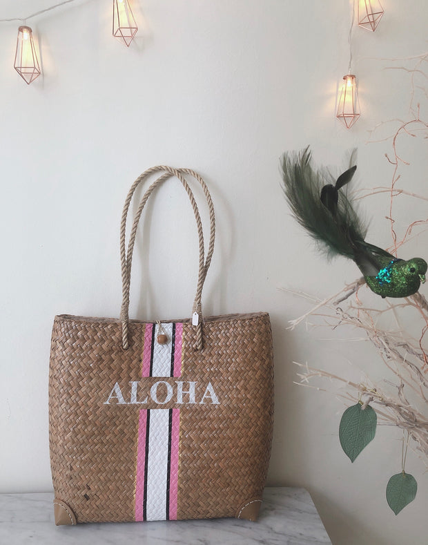 Aloha Wicker Bag (Ready Stock)