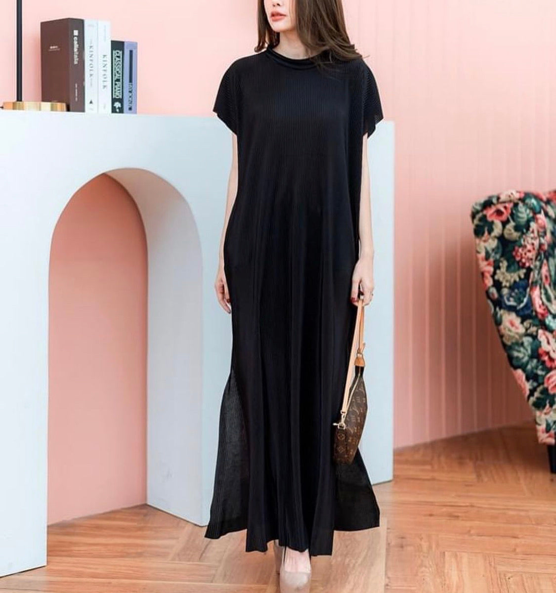 Lee Pleated Maxi