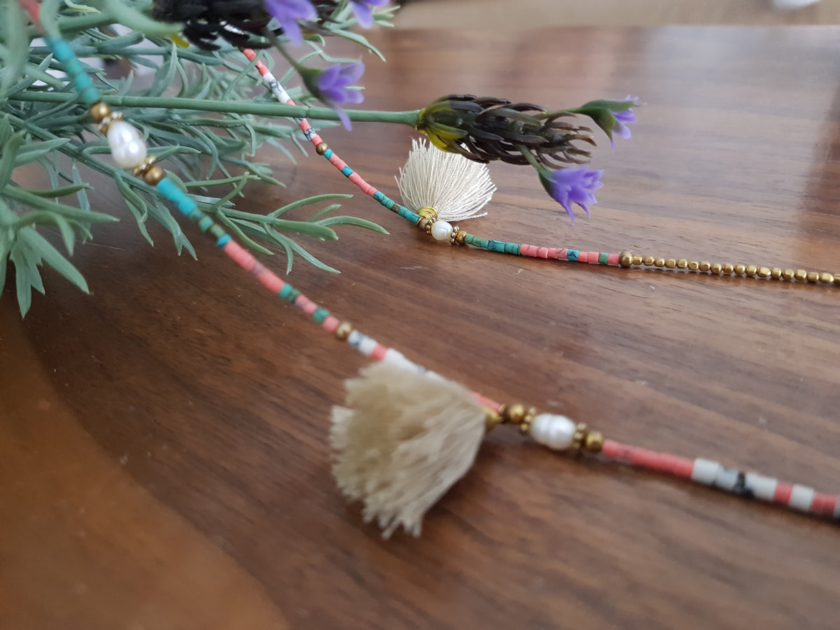 Kuni Tassel Necklace