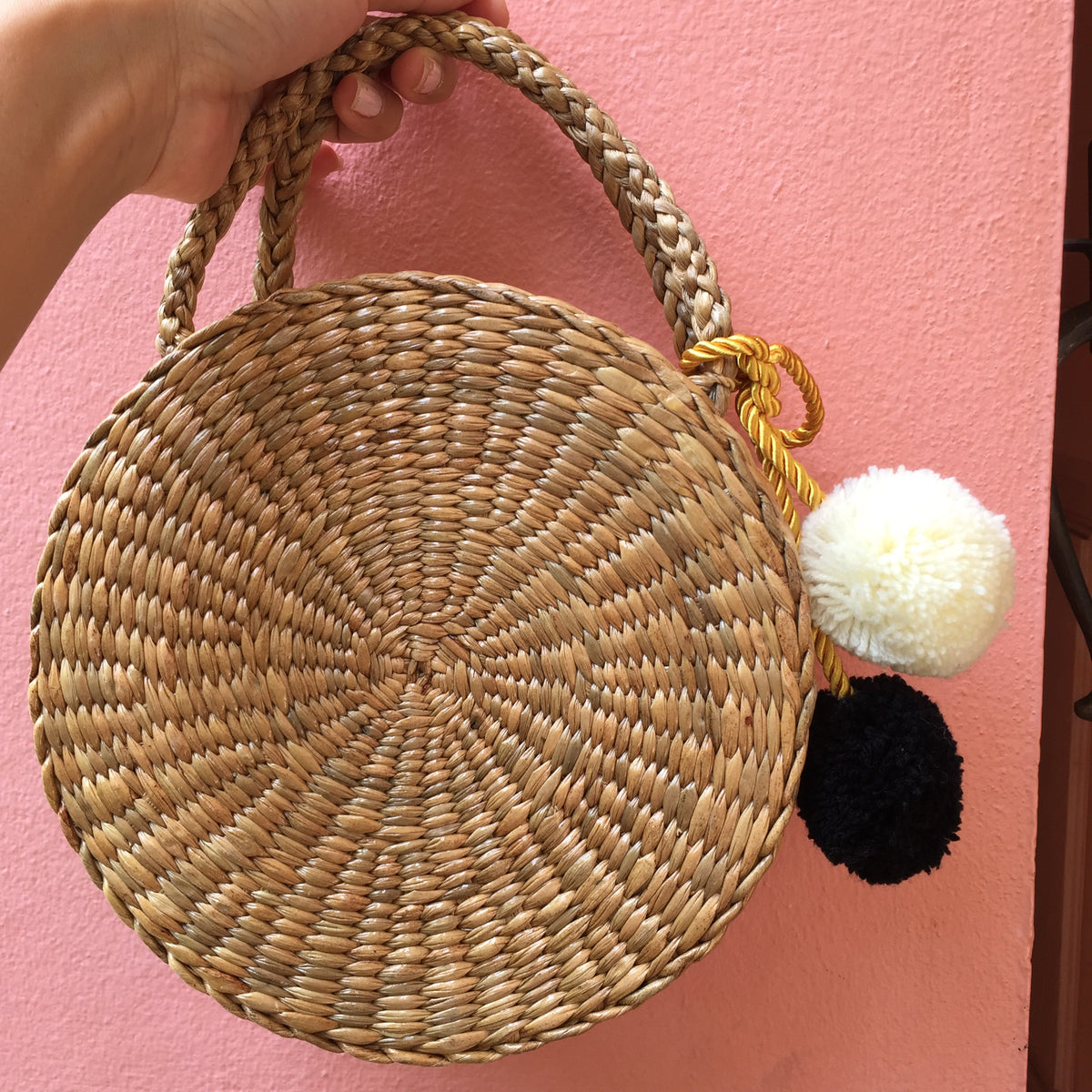 New Saturday Straw Bag (with handles)