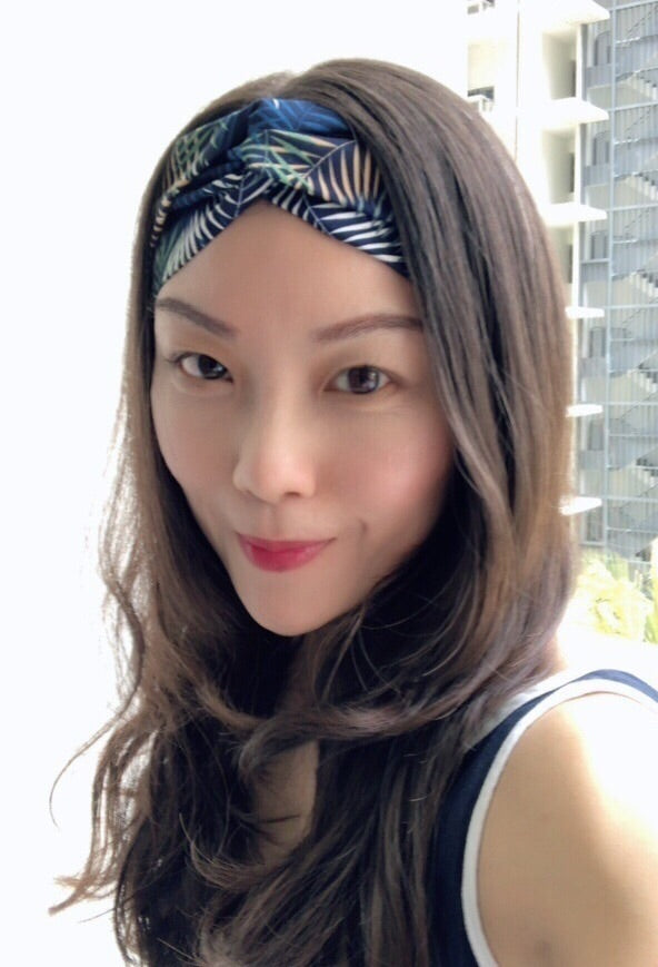 Maya Turban Headband- Nature