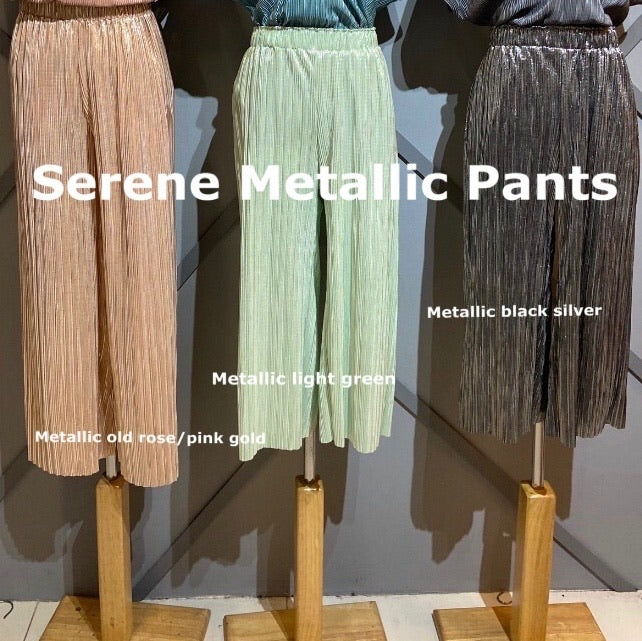 Serene Metallic Pants