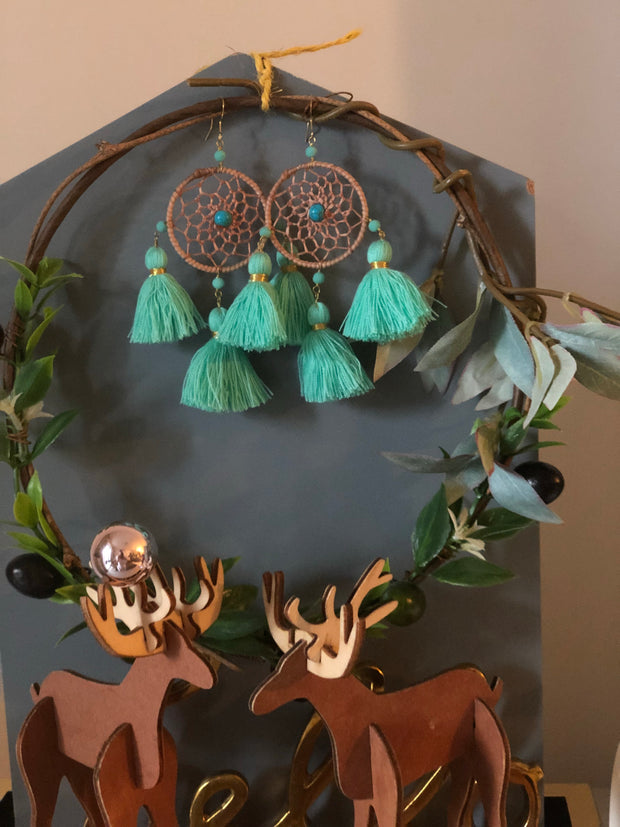 Laula Dream Catcher Eartings