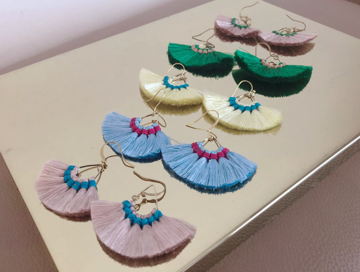 Nori Tassel Earrings