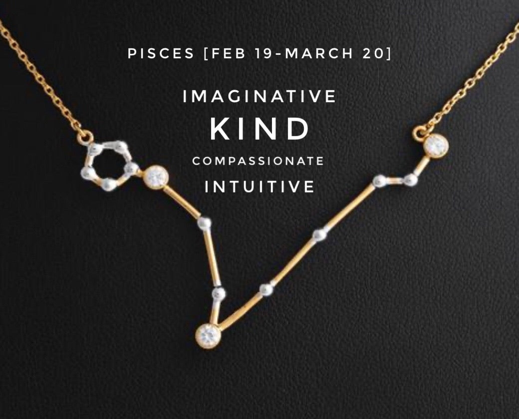 [PISCES: Feb. 19-March 20] Nilin Zodiac Necklace