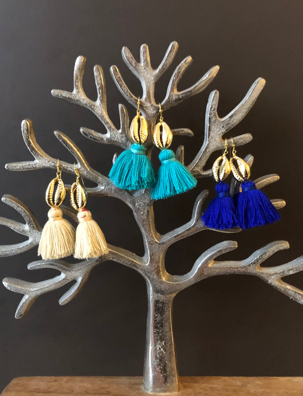 Yao Shell Earrings