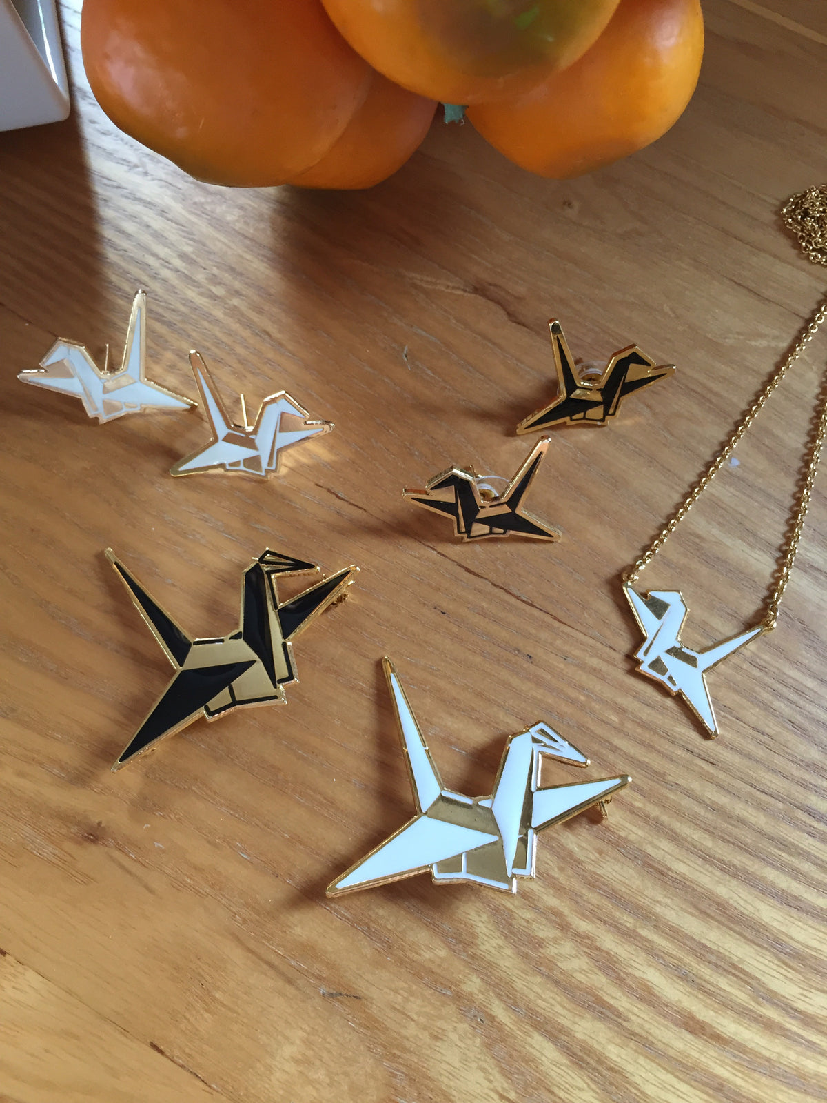 (2nd Restock) Origami Crane Earrings