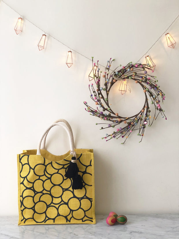 Happy Yellow Bag (Ready Stock)