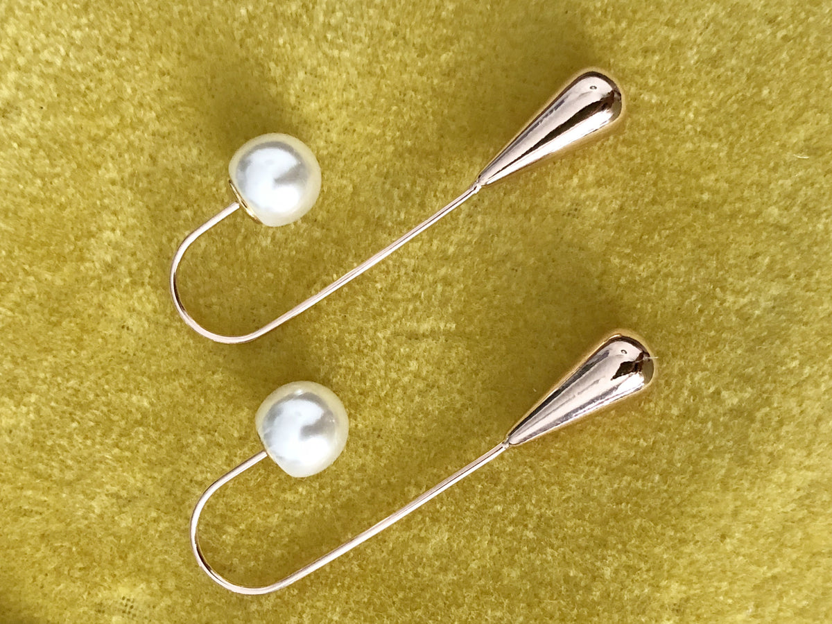 Mona Pearl Earrings