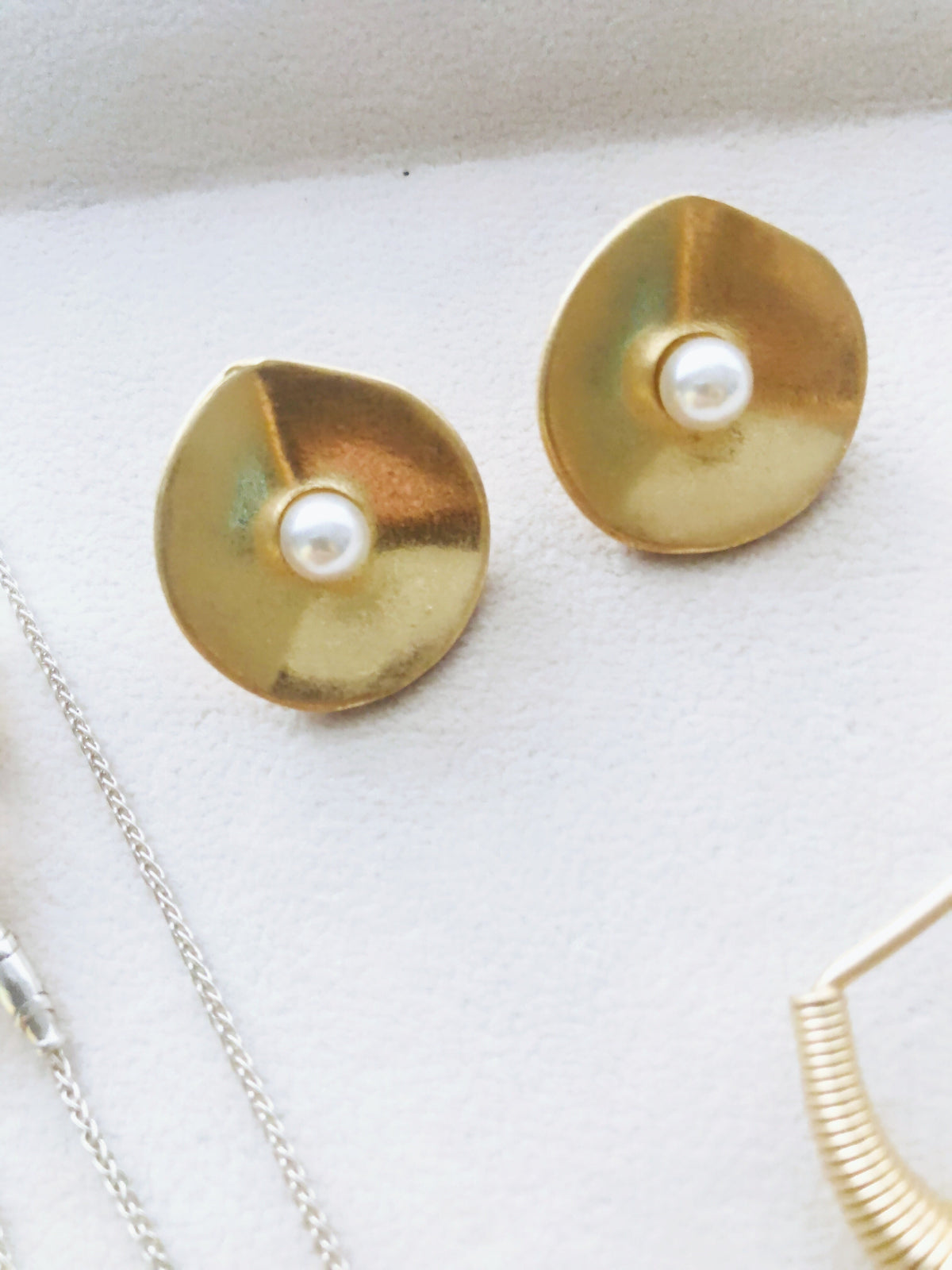Breena Pearl Earrings (10% off)