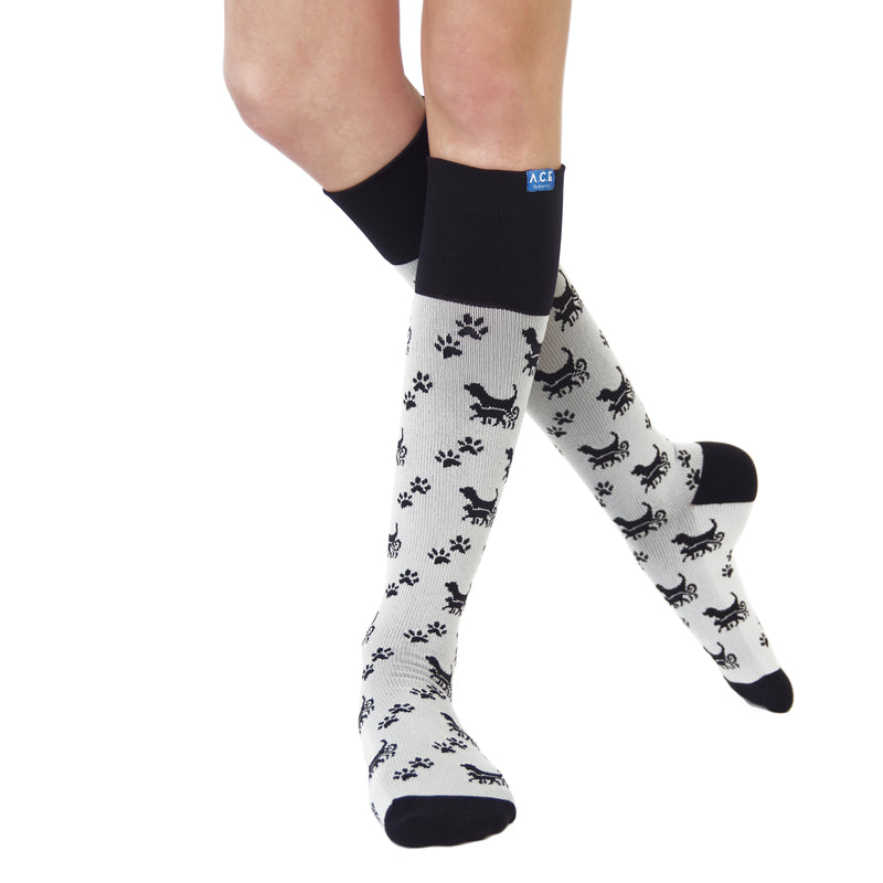 Cat Dog 20/30 Compression Socks