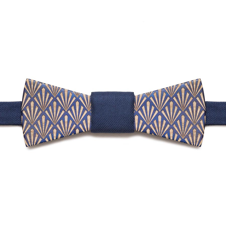 Exallo Mens Wooden Bow Ties