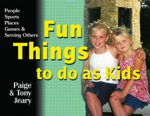 Fun Things to Do as Kids