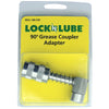 LockNLube 90 Degree Grease Coupler Adapter