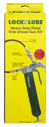 LockNLube Pistol-grip Grease Gun