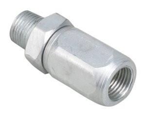 Grease Gun Hose Swivel - Rated to 3,500 PSI