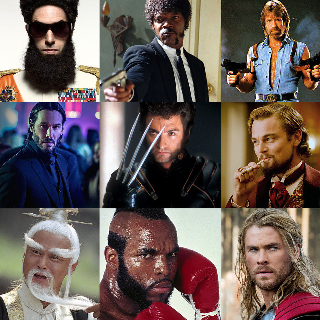Bad Ass Movie Beards