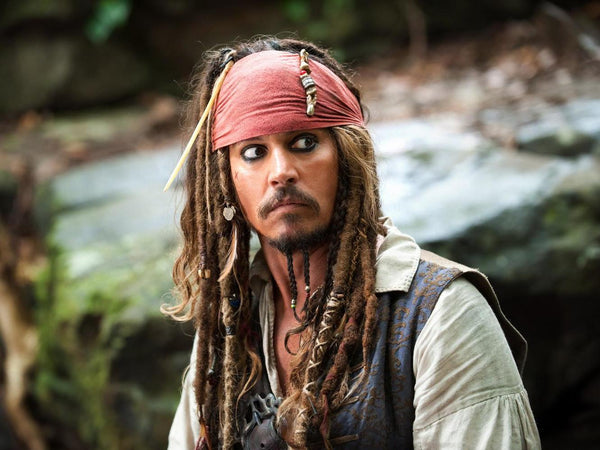 Johnny Depp – Pirates of the Caribbean