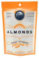Sweet Stingers Honey Roasted Almonds 2oz packs - Backattack Snacks