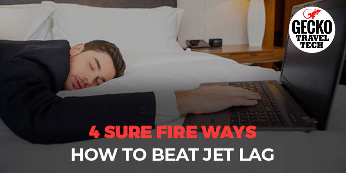 Overcome Jet Lag Fast, Just Like Flight Crews Do!
