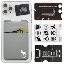 Phone Wallet - Phone Card Holder - Gecko Travel Tech -  - Gecko Double Pocket Phone Wallet