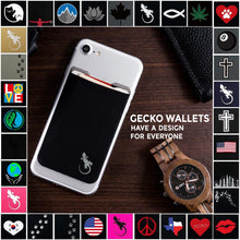 Phone Wallet - Phone Card Holder - Gecko Travel Tech - Phone Wallet - Phone Wallet by Gecko, Stick On Pocket, Universal Fit - Phone Card Holder Sleeve & Pocket