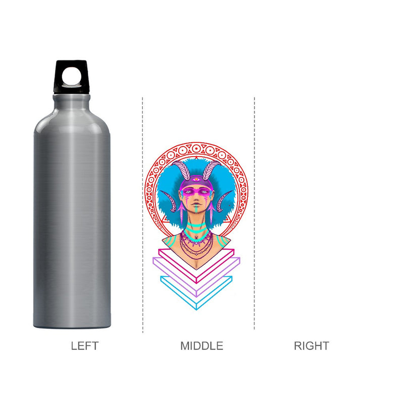 Shaman Priestess Water Bottle