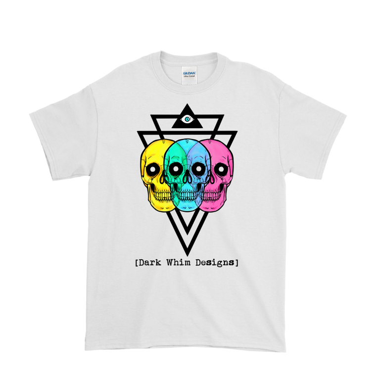 Intergalactic Tri-Force Men's White T-Shirt