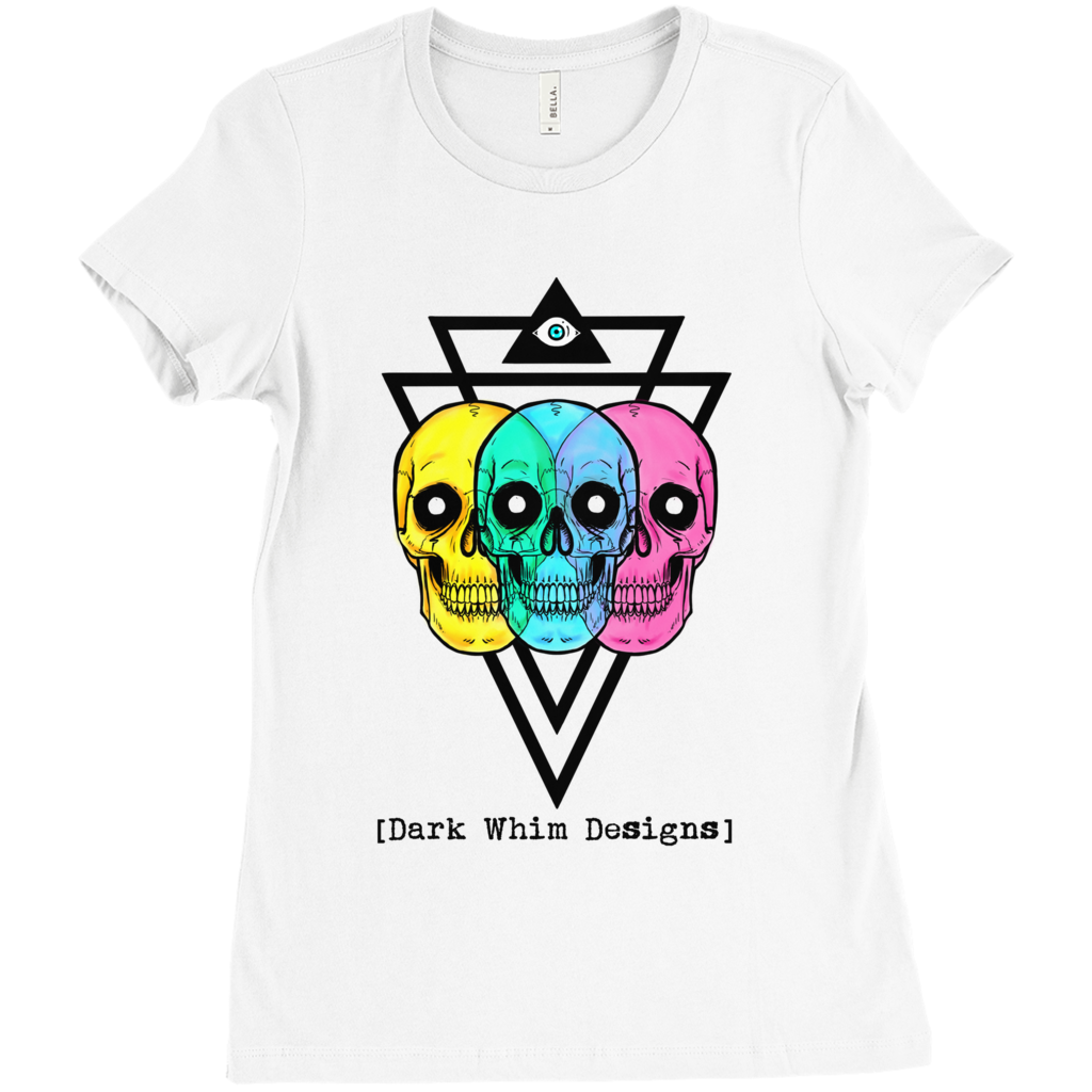 Intergalactic Tri-Force Women's White T-Shirt (U.S.)