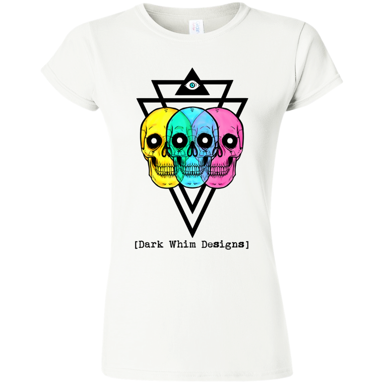 Intergalactic Tri-Force Women's White T-Shirt (E.U.)