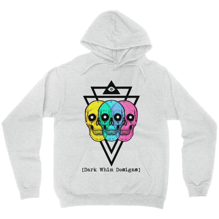Intergalactic Tri-Force Unisex Gray Hoodie