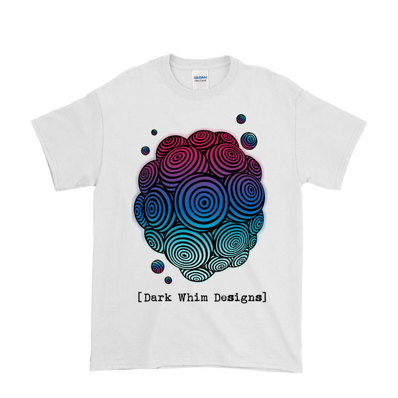 Cosmologic Cool-Down Men's White T-Shirt