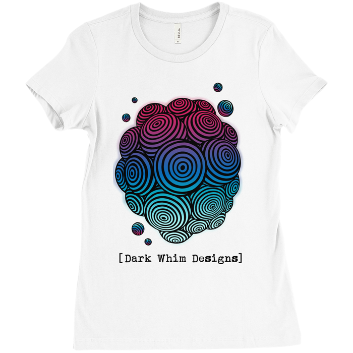 Cosmologic Cool-Down Women's White T-Shirt (U.S.)