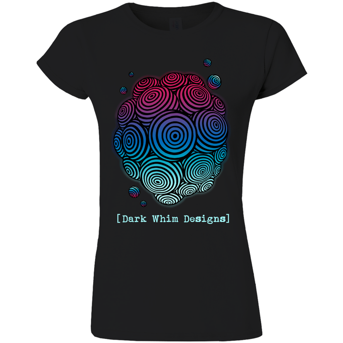 Cosmologic Cool-Down Women's Black T-Shirt (E.U.)