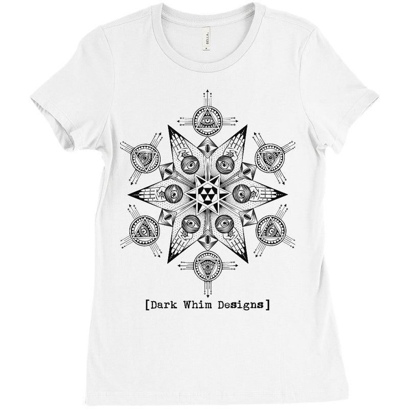 """Portal"" Women's White T-Shirt (U.S.)"