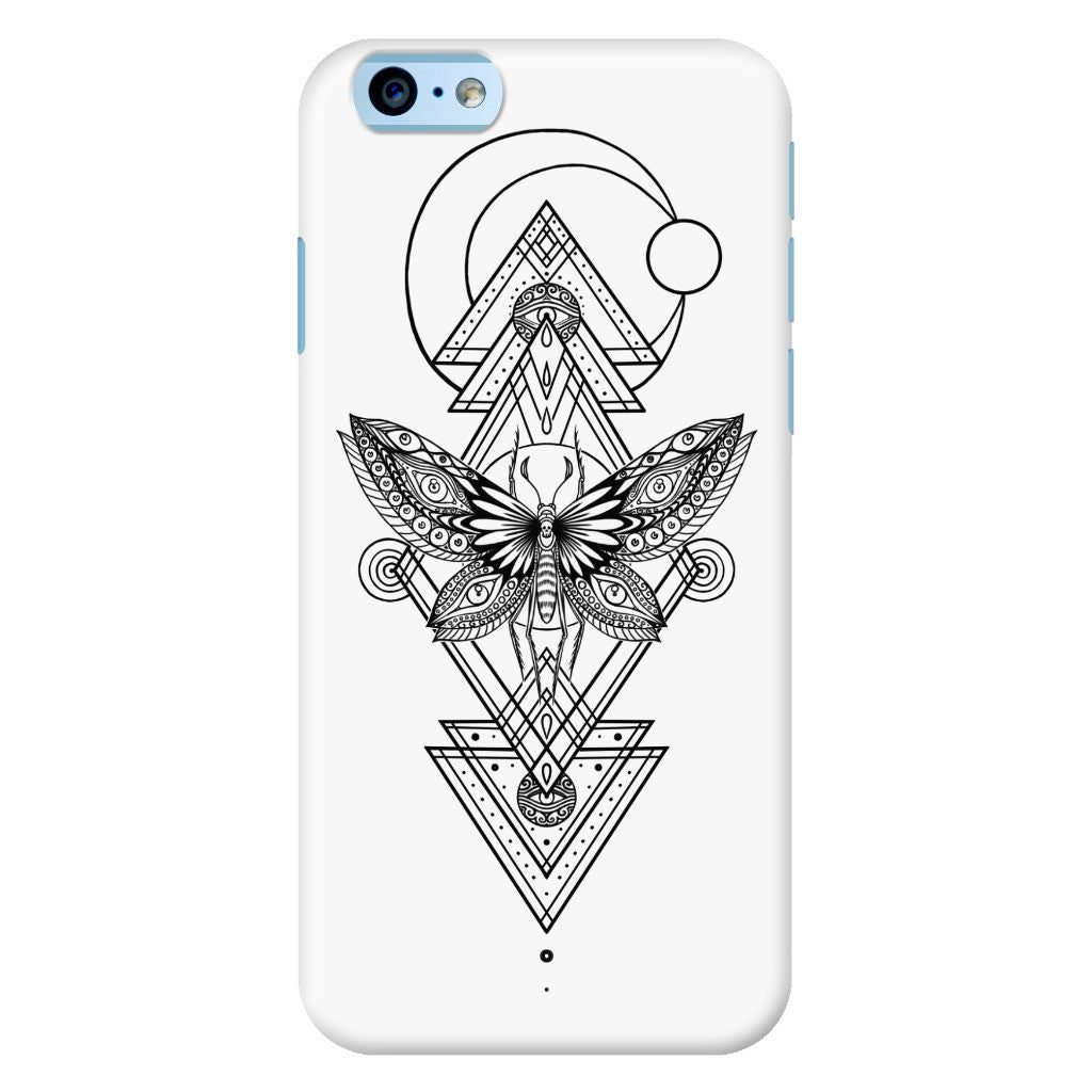 Geometric Moth Phone Case for iPhone 6