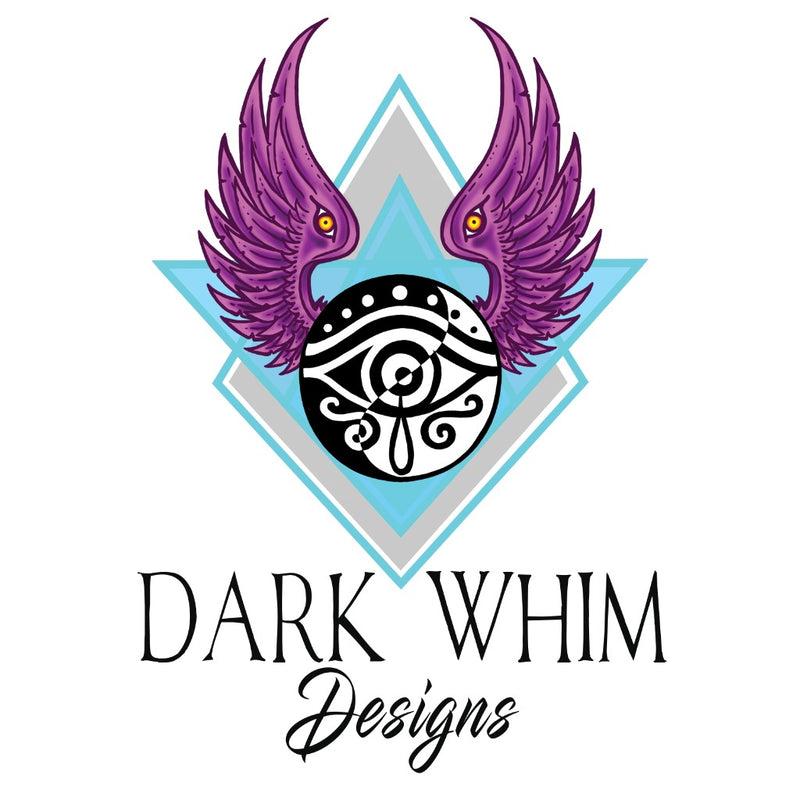 Dark Whim Logo Sticker