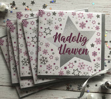Cardiau NADOLIG LLAWEN (Merry Christmas cards) Pack of 6