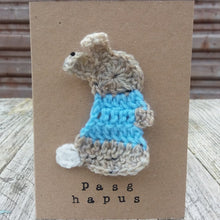 Pasg Hapus / Happy Easter Card